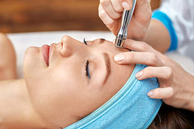 Microdermabrasion treatment. Reduce fine lines and wrinkles.